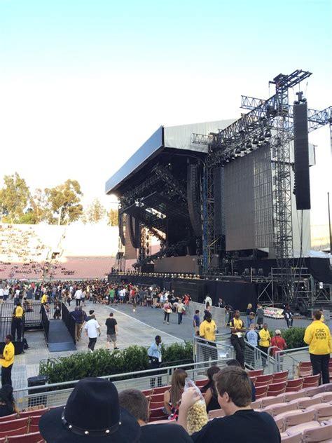 rose bowl stadium section  concert seating rateyourseatscom