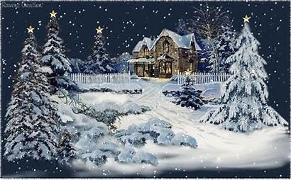 Christmas Merry Snow Animated Winter Scene Proboards