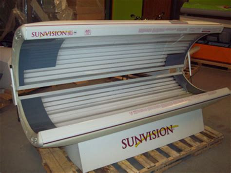 sunvision tanning bed used beds used tanning beds