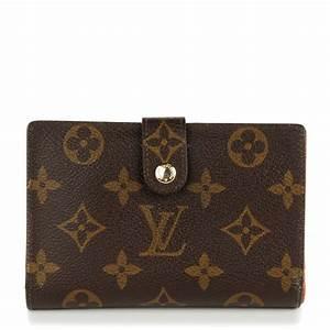 LOUIS VUITTON Monogram French Purse Wallet 132075