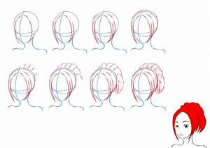 How to Draw anime hair by lilliy22 on DeviantArt