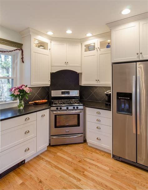 Paint Kitchen  White Painted Kitchen Cabinets With Honed