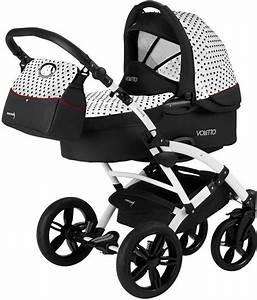 Kinderwagen Kombi Set : knorr baby kombi kinderwagen set voletto tupfen wei schwarz online kaufen otto ~ Orissabook.com Haus und Dekorationen