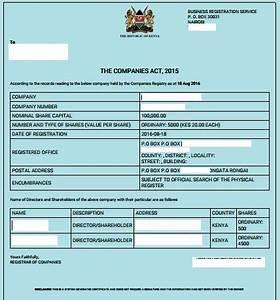 Sample Checklist Form Eregulations Kenya