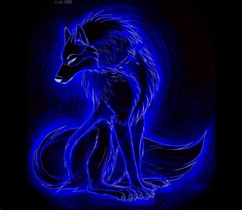 Blue Cool Wolf Wallpaper by Blue Wolf 3d And Cg Abstract Background Wallpapers On
