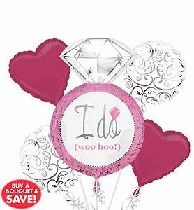 Wedding balloons balloon bouquets party city for Wedding shower balloons