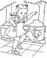 Coloring Pages Paint Hopscotch Books Embroidery Favorite Colouring Qisforquilter Playing Christmas Painted Boys Children Patterns Sheets Scotch Hop Water Applique sketch template