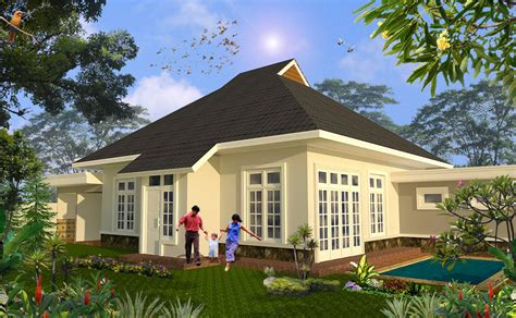 rumah bergaya kolonial multidesain arsitek