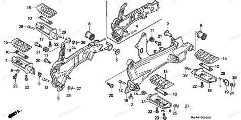Honda Motorcycle Oem Parts Diagram For Step