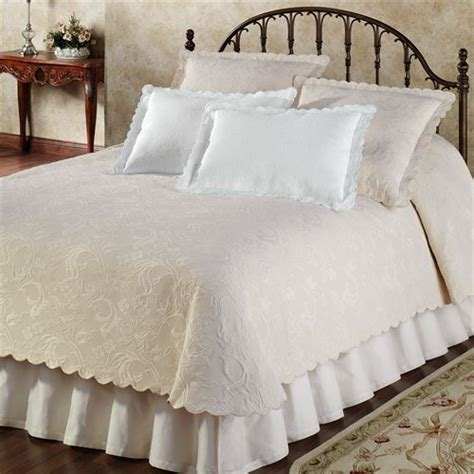Coverlets Bedding by Botanica Woven Matelasse Coverlet Bedding By Epoque
