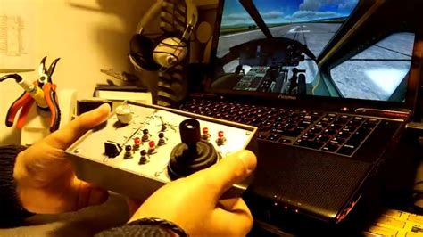 diy compact analog joystick flight control youtube