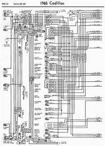 Wiring Diagrams Of 1965 Cadillac Series 60 And 62 Part 1  U2013 Auto