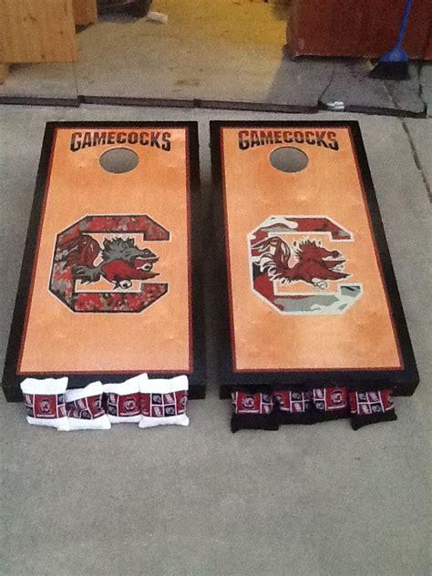 South Carolina Gamecocks Cornhole Boards