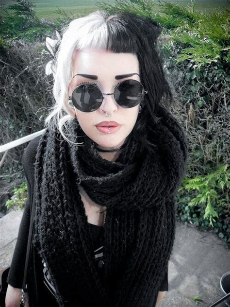 black and white hair color black and white hair on