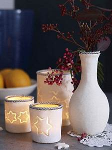 Teelichter Selber Machen : teelichter und vasen aus salzteig selber machen ~ Lizthompson.info Haus und Dekorationen