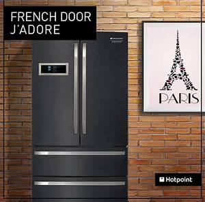 Frigo Multi Porte Pas Cher : refrigerateur multi portes noir po le cuisine inox ~ Nature-et-papiers.com Idées de Décoration