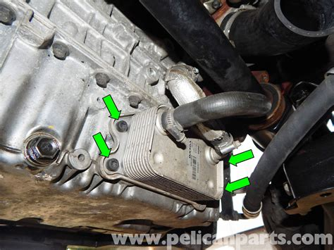 volvo  engine oil cooler replacement