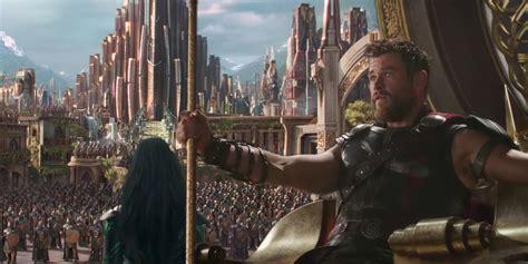 thor ragnarok whats   asgard screen rant