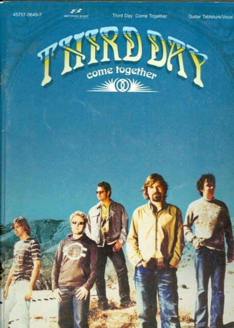 Third Day Come Together Songbook sheet music guitar ...