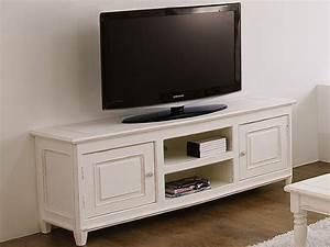 Meuble Tv En Hauteur : egadi meuble tv en bois 145x45 cm hauteur 60 cm ~ Teatrodelosmanantiales.com Idées de Décoration
