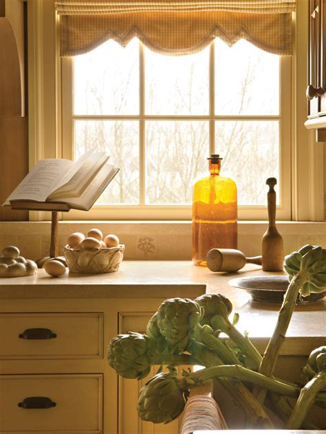 Cream Kitchen Tile Ideas - kitchen window treatment valances hgtv pictures ideas hgtv