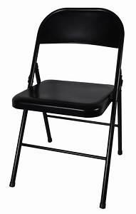 Chaise Pliante Noire : chaise pliante metal noire argon m0 chaise pliante et empilable chaise pliante ~ Teatrodelosmanantiales.com Idées de Décoration