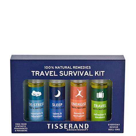 tisserand travel survival kit  products  shipping