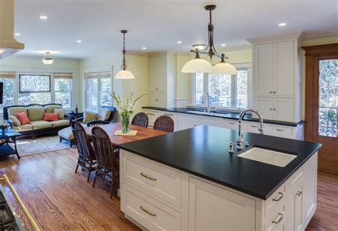 sink in kitchen island two sinks an area and sitting room nott associates 5281