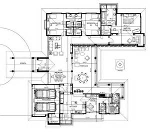 Inspiring Hacienda Style Homes Floor Plans Photo by En House B Floorplant The Best Place To Live In Panama