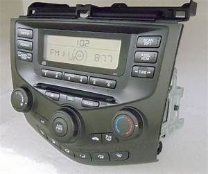 2003 2004 2005 Honda Accord Radio Cd Player Aux 2aa0