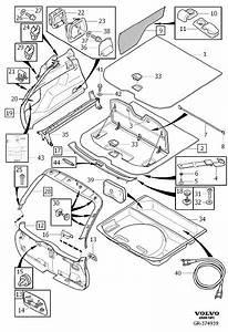 2011 Volvo Xc60 Clip  Trim  Compartment  Interior
