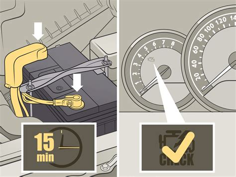Light Came On by How To Reset A Check Engine Light 7 Steps With Pictures