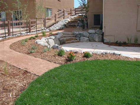 colorado landscaping colorado springs xeriscape four seasons landscaping