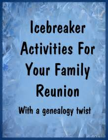 Black Family Reunion Activities