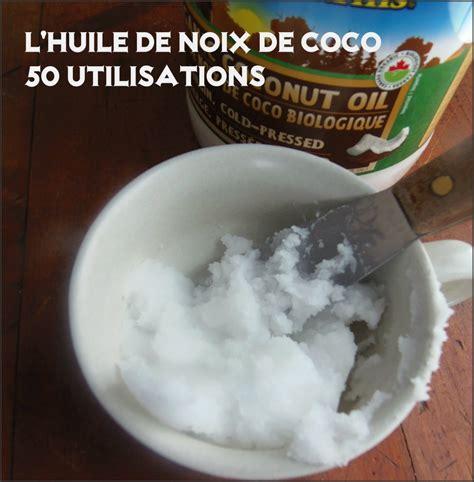 50 utilisations pour l huile de noix de coco vivre vg