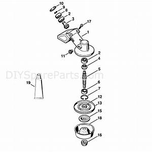 Stihl Fs 130 Brushcutter  Fs130r  Parts Diagram  Gear Head