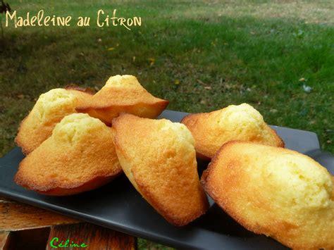 madeleines au citron les plaisirs de c 233 line