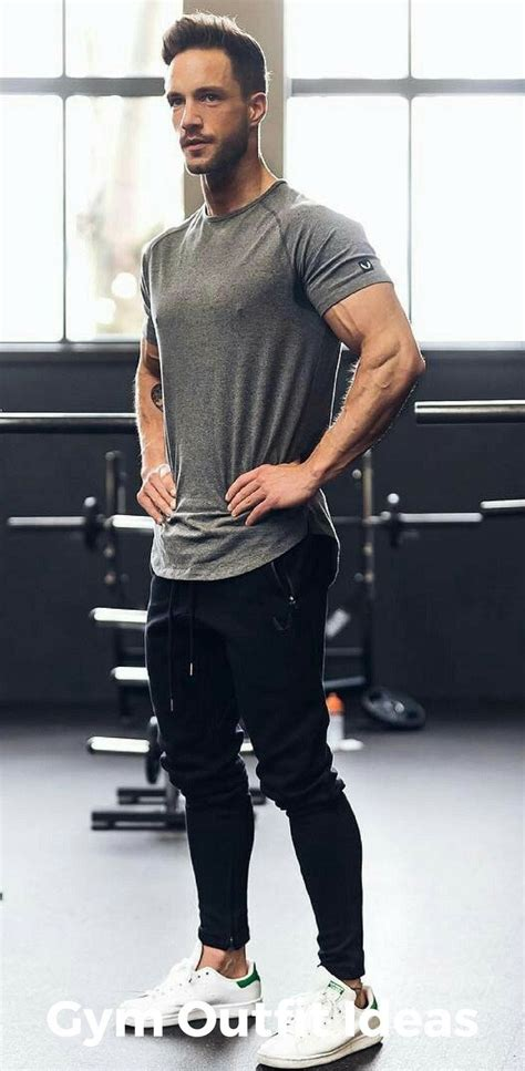 9 Gym Outfit Ideas For Men Thatu0026#39;ll Inspire You To Workout Right Now u2013 LIFESTYLE BY PS
