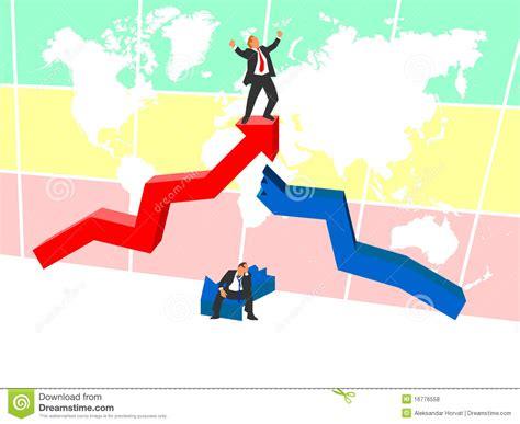 Conquering World Market Stock Vector. Illustration Of