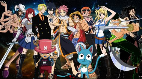Fairy Tail X One Piece Crossover By Negator7 On Deviantart