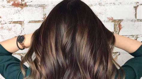Hair Color Trends For Brunettes That'll Make 2018