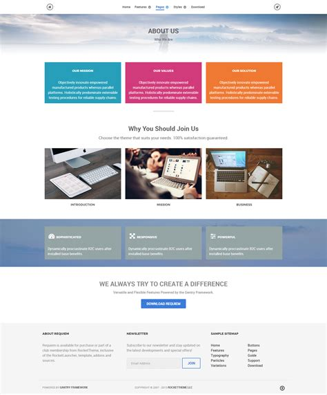 About Us Page Template Template About Us Page Template Geotrackintl