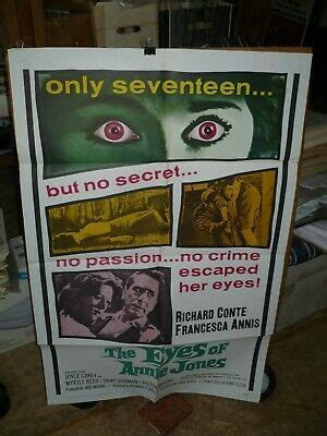THE EYES OF ANNIE JONES , orig 1-sht / movie poster ...