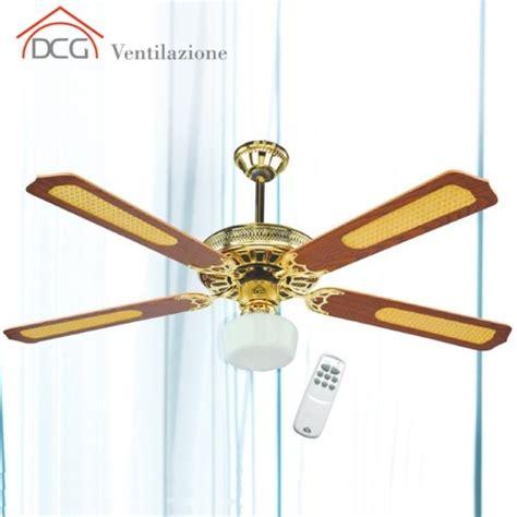 ventilatore soffitto con telecomando ventilatore da soffitto 4 pale con telecomando dcg eltronic