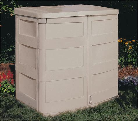 Suncast Outdoor Vertical Storage Shed by Sharty Horizontal Shed Storage