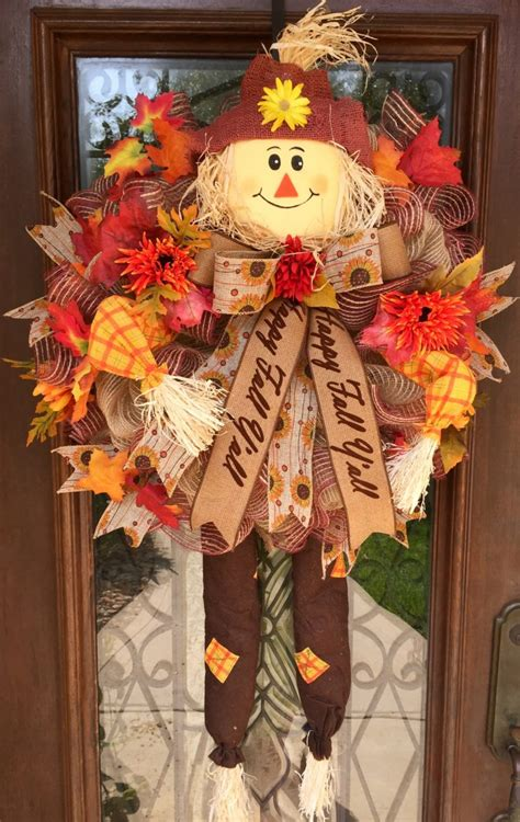 cool fall wreath ideas shelterness