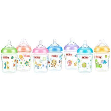 nuby 9 oz natural touch softflex natural nurser bottles 3 colors may vary walmart com