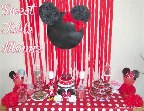 un anniversaire minnie la d 233 coration de la sweet table de