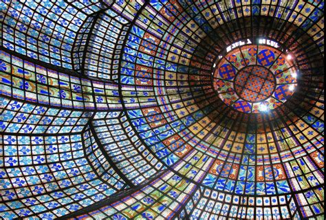 10 Breathtaking Stained Glass Ceilings Around The World