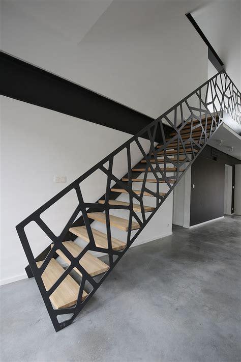 Escalier En Metal Interieur Escalier M 233 Tallique Int 233 Rieur Id 233 Es De Design Droit